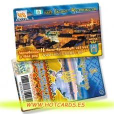 ХотКардс UC034-3  Івано-Франківськ Я УкраїнецьМіста(I)(50/400)