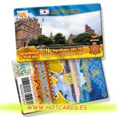 ХотКардс UC037-1 Чернівці Я Українець Міста(I)(50/400)
