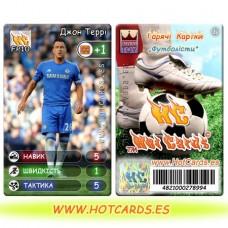 HotCards-ХотКардс FP10 Джон Террі ФП(Б)(50/400)