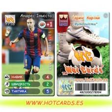 HotCards-ХотКардс FP18 Андрес Іньєста ФП(Б)(50/400)