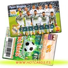 ХотКардс FK001 Реал Мадрид ФК(K)(50/400)