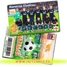 ХотКардс FK002 Манчестер Ю. ФК(K)(50/400)