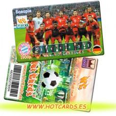 ХотКардс FK003 Баварія ФК(K)(50/400)