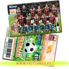 ХотКардс FK007 Мілан ФК(K)(50/400)