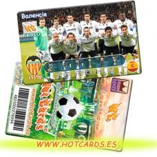 ХотКардс FK010 Валенсія ФК(K)(50/400)