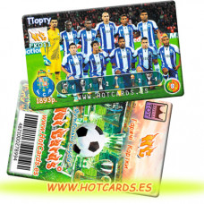 ХотКардс FK011 Порту ФК(K)(50/400)