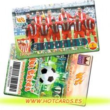 ХотКардс FK015 Савілья ФК(K)(50/400)