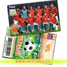 ХотКардс FK016 Рома ФК(K)(50/400)