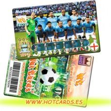 ХотКардс FK019 Манчестер Сіті ФК(K)(50/400)
