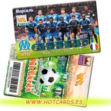 ХотКардс FK023 Марсель ФК(K)(50/400)