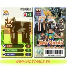 ХотКардс G010 КОРОВА Відео Ігри-M (Б)(50/400)