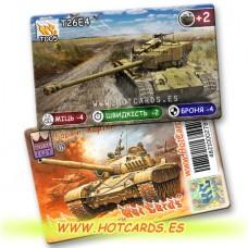 HotCards-ХотКардс Танки T005 Т26Е4  (Б)(50/400)