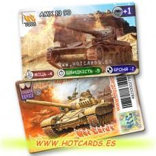 HotCards-ХотКардс Танки T006 AMX1390  (Б)(50/400)