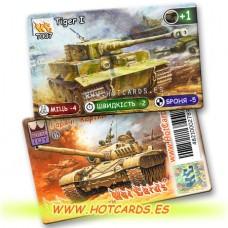 HotCards-ХотКардс Танки T007 Tiger I  (Б)(50/400)