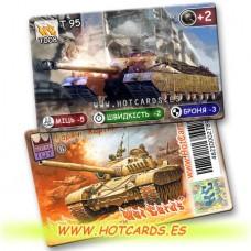 HotCards-ХотКардс Танки T008 T 95 (Б)(50/400)