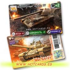 HotCards-ХотКардс Танки T009 Waffentrager auf Pz. IV (Б)(50/400)
