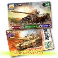 HotCards-ХотКардс Танки 0T022 T110E5 (Б)(50/400)
